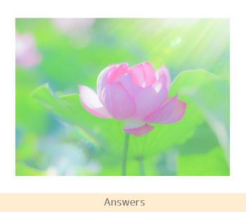 answer(天国)